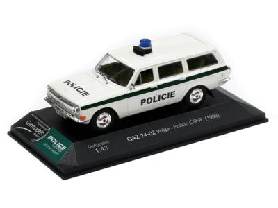Carmodels SK | M 1:43 | GAZ 24-02 Volga - Policie ČSFR (1993)