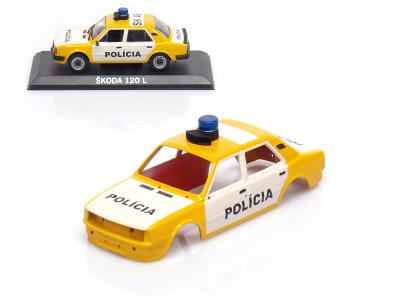 Carmodels SK / DeA | M 1:43 | KAROSÉRIA Škoda 120L - Polícia ČSFR (1990)