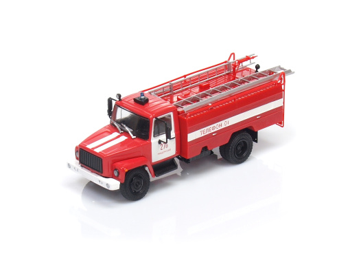 AC 30 / GAZ-3307 - Požiarne vozidlo ( RUS ) (1989)