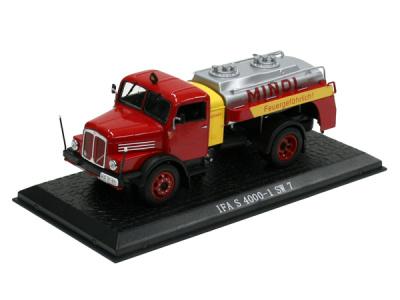 "Atlas | M 1:43 | IFA S 4000-1 SW 7 - ""Tankwagen MINOL"" (1958-1967)"