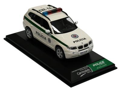 Carmodels SK   M 1:43   BMW X3 - Polícia SR (2009)