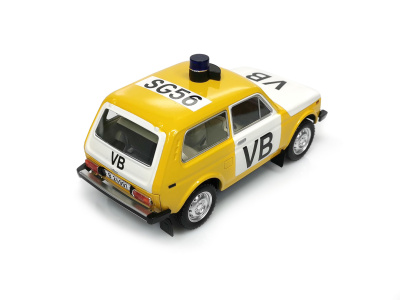 Carmodels SK / White Box | M 1:24 | VAZ 2121 Lada Niva - Verejná bezpečnosť ČSSR (1986)