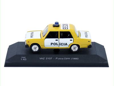 Agat / Tantal   M 1:43   VAZ 2107 - Polícia ČSFR (1990 )