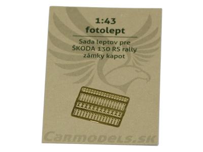 Carmodels SK | M 1:43 | Fotolept - Zámky kapot na športové autá