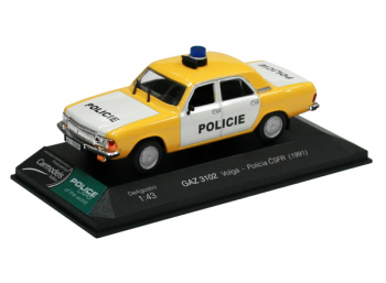 GAZ 3102 Volga - Policie ČSFR (1991)