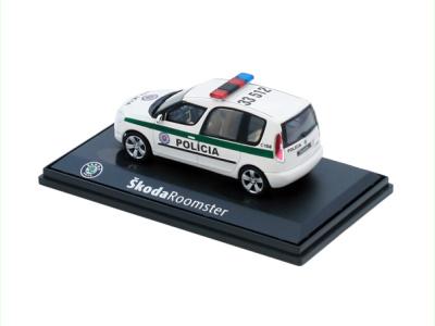 Abrex CZ   M 1:43   ŠKODA Roomster - Polícia SR (2007)
