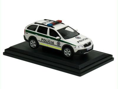 Abrex CZ   M 1:43   ŠKODA Octavia Scout - Polícia SR (2006)