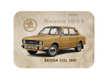 MAGNETKA Škoda 105L (1981)