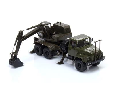 Naš Avtoprom | M 1:43 | KrAZ-260 6x6 AOV-4422 Bager (1981)