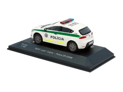 Bburago | M 1:43 | SEAT Leon Cupra - Polícia SR (2009)
