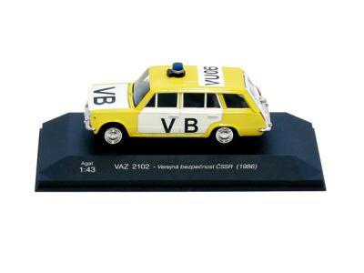 Agat / Tantal | M 1:43 | VAZ 2102 Lada - Verejná bezpečnosť ČSSR (1986)
