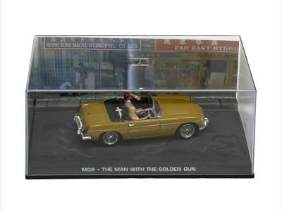 "Eaglemoss Publications | M 1:43 | MGB - James Bond Series ""The Man Whith The Golden Gun"""
