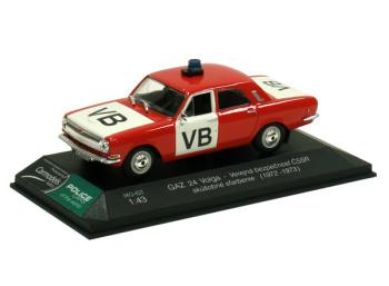 GAZ 24 Volga - Verejná bezpečnosť ČSSR (1972-1973)