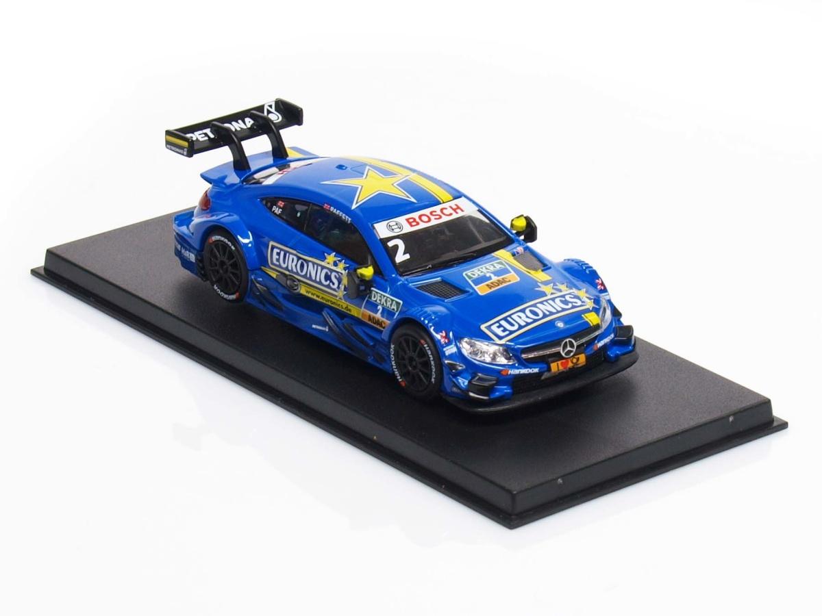 RMZ | M 1:43 | Mercedes-Benz AMG C63 DTM # 2 - Gary Paffett ( 2016 )