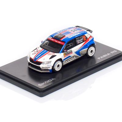 ŠKODA Fabia III R5 (2015) #32 - Kopecký / Dresler - Rallye Monte-Carlo ( 2018 )