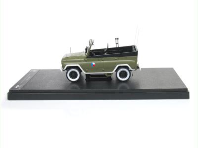 Carmodels SK / White Box | M 1:24 | UAZ 469BI - Prehliadkové vozidlo ČSĽA (1979)