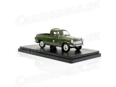 Carmodels SK/ Abrex CZ | M 1:43 | ŠKODA 1202 Pick Up - ČSĽA (1963-1968)