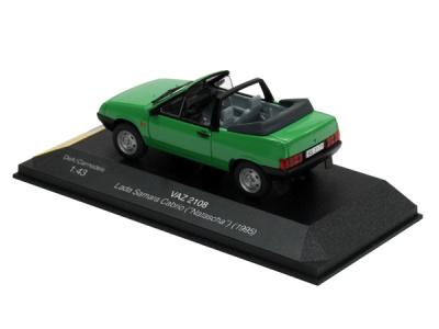 "Carmodels SK / DeA | M 1:43 | VAZ 2108 Lada Samara Cabrio Targa ""Natascha"" (1995)"