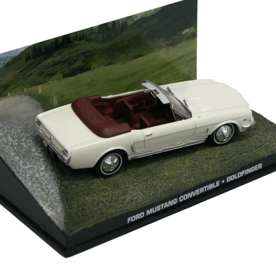 """FORD Mustang Convertible - James Bond Series """"Goldfinger"""""""