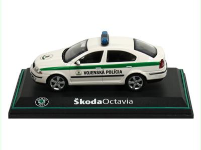 Abrex CZ | M 1:43 | ŠKODA Octavia II. - Vojenská polícia SR (2004)