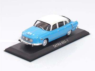 """Carmodels SK / DeA   M 1:43   TATRA 603-2 """"Šilhavka"""" (1962) + TATRA 603-1 (1955-1963)"""