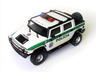 Cararama / Hongwell | M 1:43 | HUMMER H2 SUT - Polícia SR (2008)
