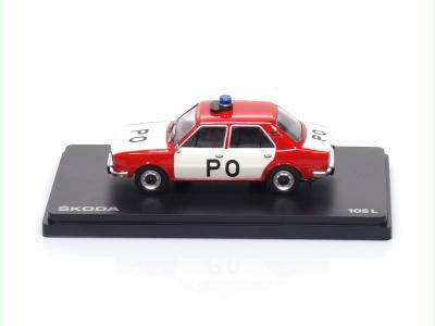Abrex CZ | M 1:43 | ŠKODA 105L - Požiarna ochrana ČSSR (1977)