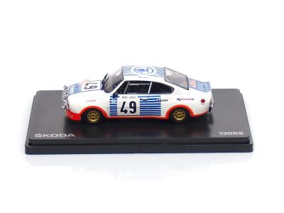 Abrex CZ | M 1:43 | ŠKODA 130RS - #49 Blahna / Hlávka - Rallye Monte Carlo (1977)