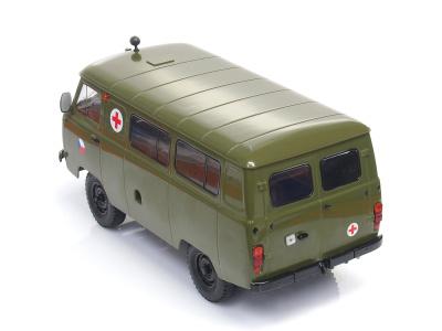 Premium Classixxs | M 1:18 | UAZ 452A Military Ambulance ČSSR (1979)