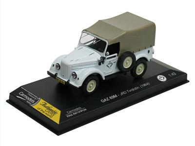 Carmodels SK | M 1:43 | GAZ 69 M - JRD Tvrdošín (1964)