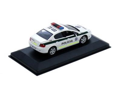 Carmodels SK | M 1:43 | PEUGEOT 407 - Polícia SR (2008)