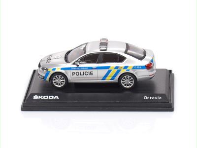 Abrex CZ   M 1:43   ŠKODA Octavia III. - Policie CZ (2012)