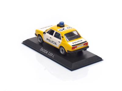 Carmodels SK / DeA | M 1:43 | ŠKODA 120L - Polícia ČSFR (1990)