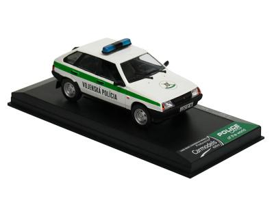 Carmodels SK / DeA   M 1:43   VAZ 2109 Lada Samara - Vojenská Polícia SR (1996)