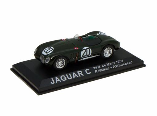 JAGUAR C #20 - P..Walker / P.Whitehead - 24 h. Le Mans (1951)