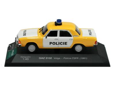 Carmodels SK   M 1:43   GAZ 3102 Volga - Policie ČSFR (1991)