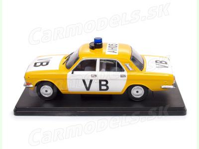 Carmodels SK / Modimio c.   M 1:24   GAZ 2410 Volga - Verejná bezpečnosť ČSSR (1989)