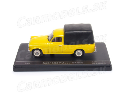 Carmodels SK/ Abrex CZ | M 1:43 | ŠKODA 1202 Pick Up (1963-1968)