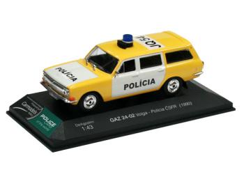 GAZ 24-02 Volga - Polícia ČSFR (1990)