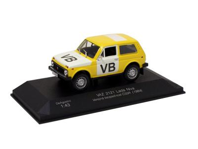 Carmodels SK | M 1:43 | VAZ 2121 Lada Niva - VB ČSSR (1984)