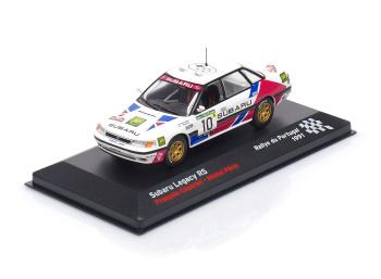 SUBARU Legacy RS # 10 - François Chatriot / Michel Perin - Rallye de Portugal (1991)
