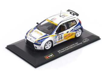 FIAT Punto S1600 #56 G.Basso Pirollo Rallye de Catalunya (2001)