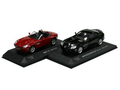 DeAgostini | M 1:43 | BMW Z8 + MERCEDES BENZ SLR McLaren