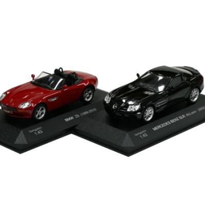 BMW Z8 + MERCEDES BENZ SLR McLaren