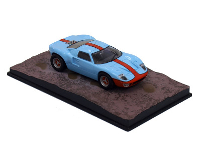 """Eaglemoss Publications   M 1:43   FORD GT 40 - James Bond Series """"Die Another Day"""""""