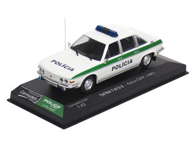 Carmodels SK / DeA   M 1:43   TATRA T-613-3 - Polícia ČSFR (1990)