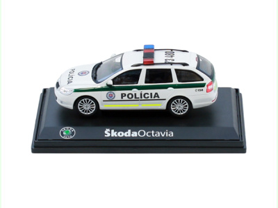 Abrex CZ   M 1:43   ŠKODA Octavia II. Combi Facelift (2009) - Polícia SR