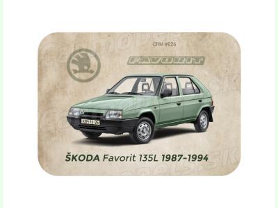 Carmodels SK |  | MAGNETKA Škoda Favorit 135 (1987-1994)