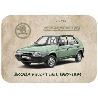 MAGNETKA Škoda Favorit 135 (1987-1994)