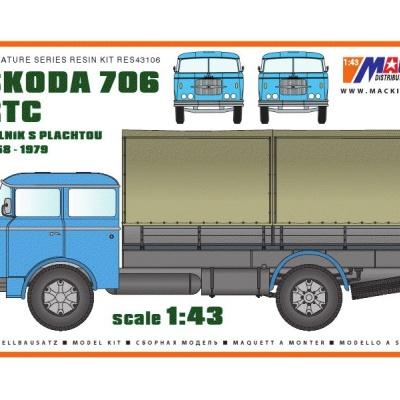 ŠKODA 706 RTC - Valník s plachtou (1958-1979)